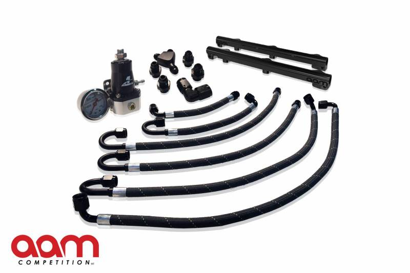 aam competition 370z fuel rail and line kit
